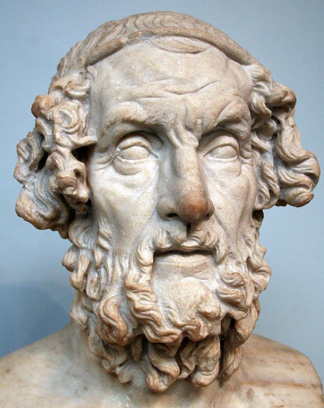গ্রিক কবি হোমার (৮০০-৭০১ খ্রি.পূ.)