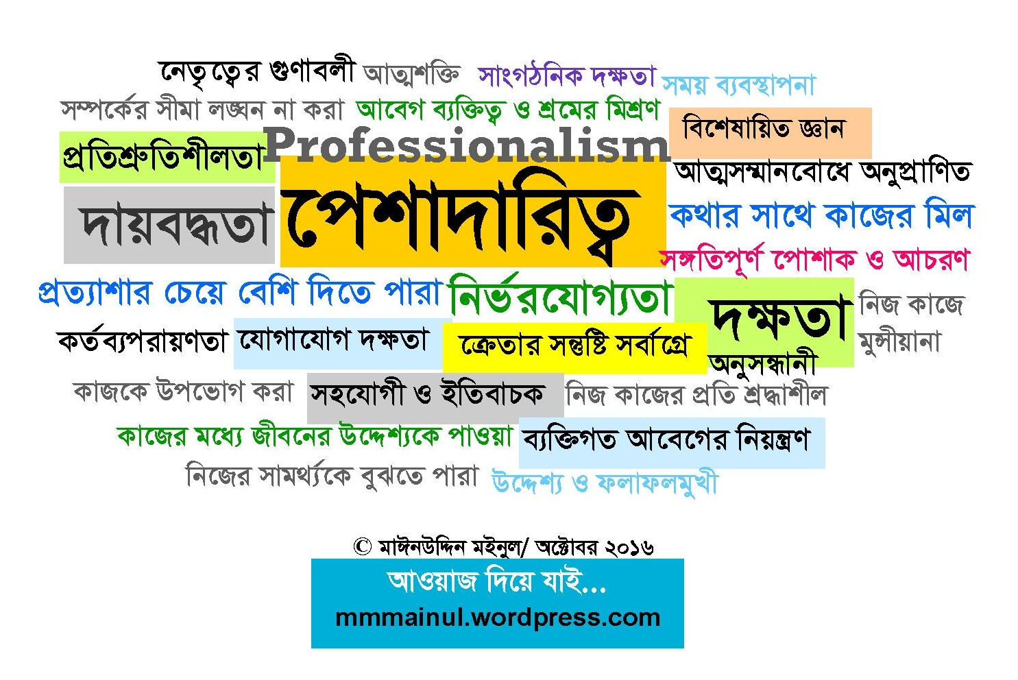 professionalism-mmmainul